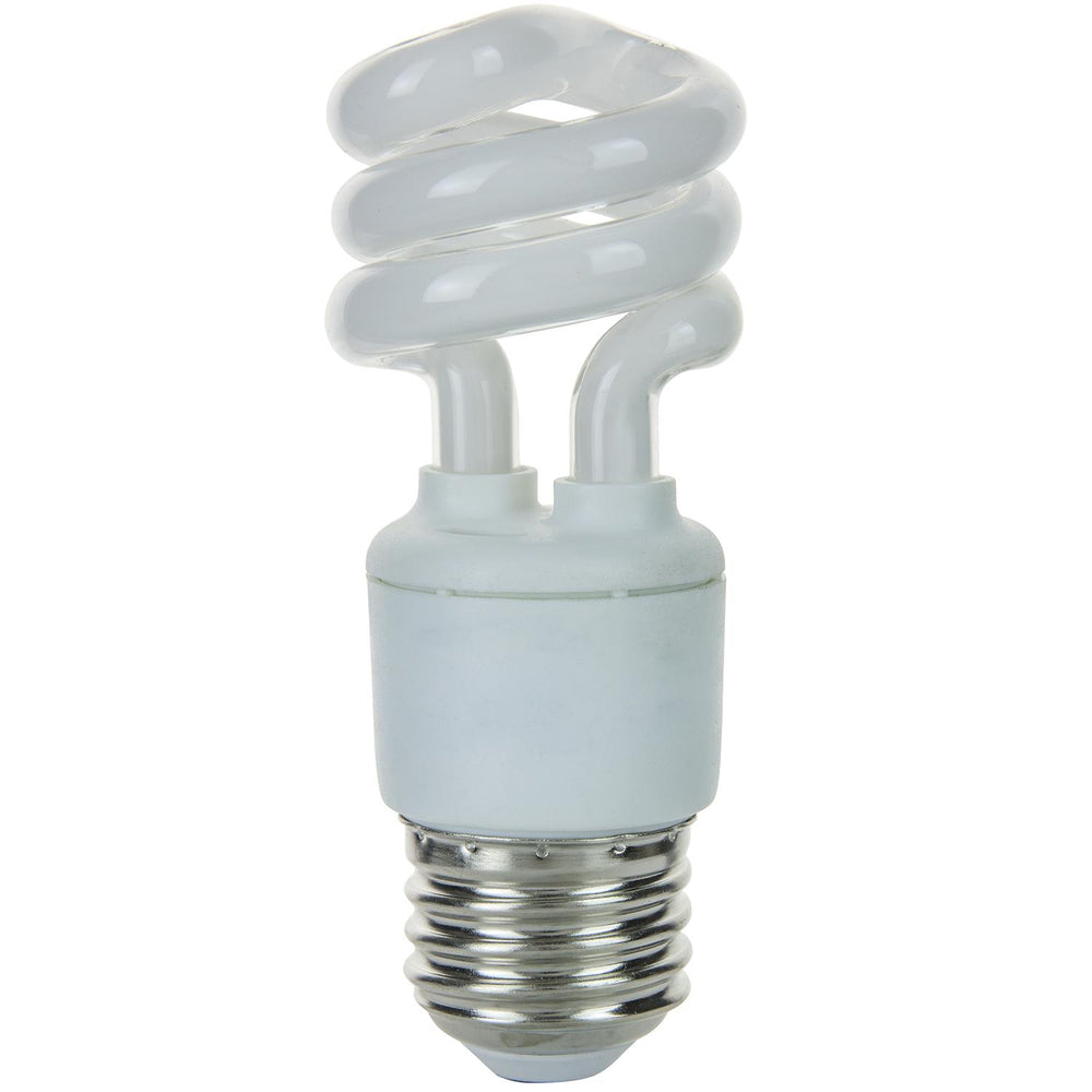 Sunlite 7 Watt Super Mini Spiral, Medium Base, Warm White