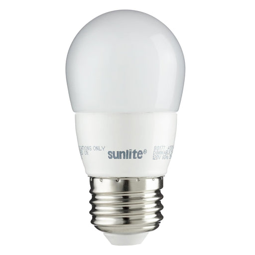 Sunlite LED A15 Appliance 5W (35W Equivalent) Light Bulb Medium (E26) Base, Warm White