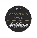 Sublime Magazine Good Brand Award 2016