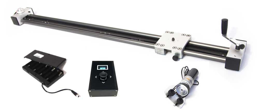 Digislider Video Time Lapse Slider with battery power