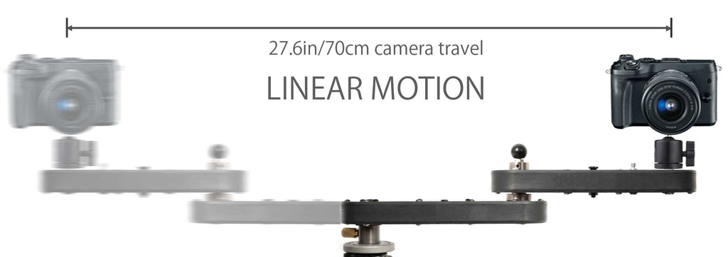 Digislider 2 Axis Wing Arm Camera Slider for Video and Time Lapse