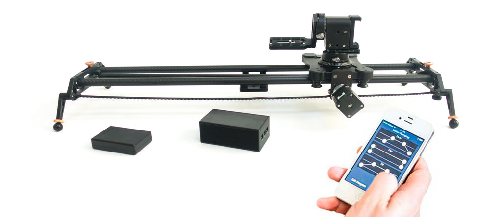 Digislider 3 axis auto-pan wireless time lapse slider