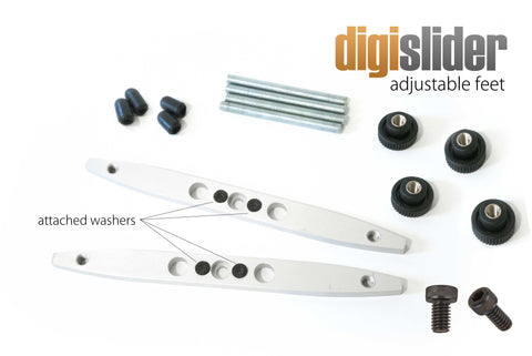 Digislider Adjustable Feet