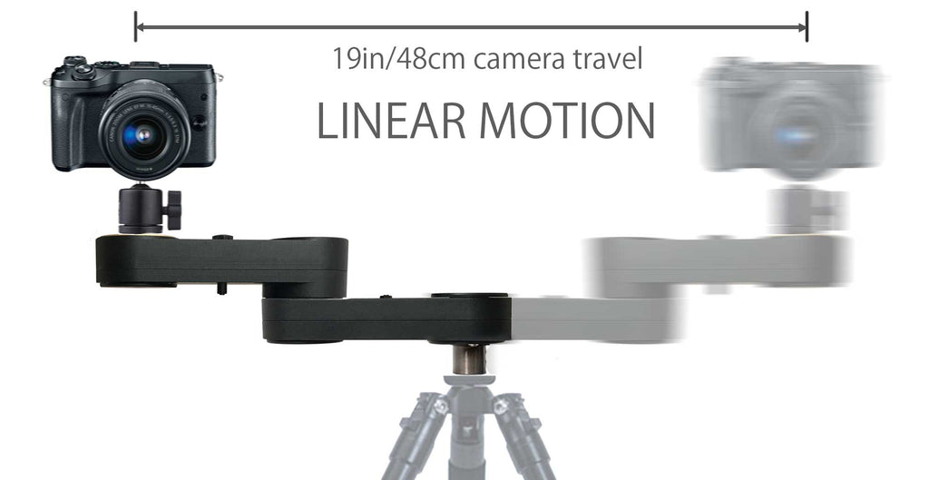 Digislider Wing Arm 1 Axis Motorized Camera Slider for Video & Time Lapse
