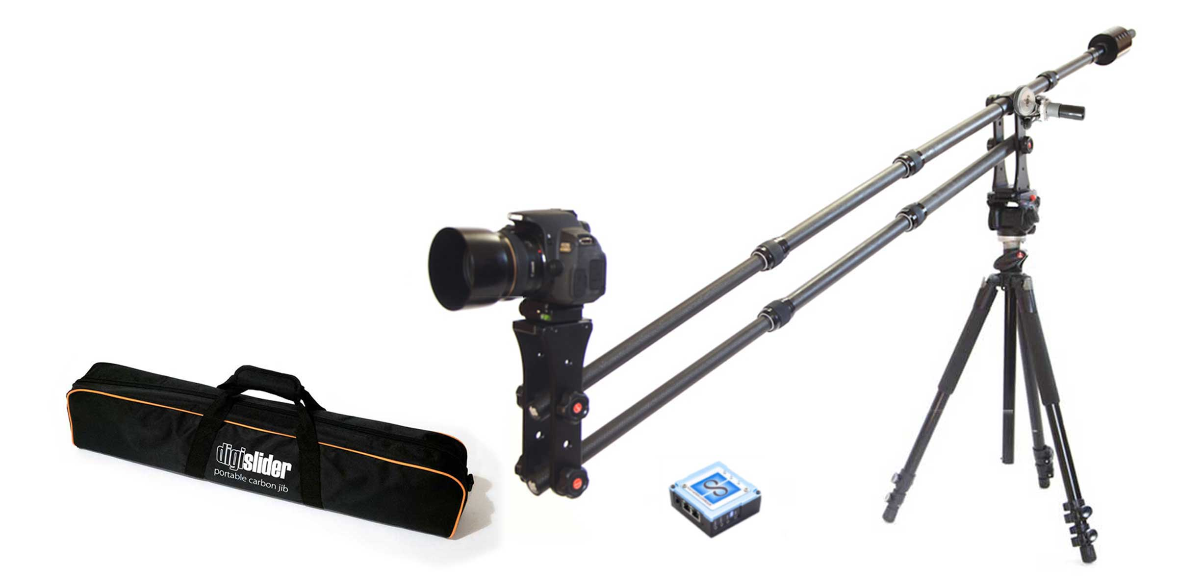 Digislider Motorized Jib with Dynamic Perception's NMX Controller