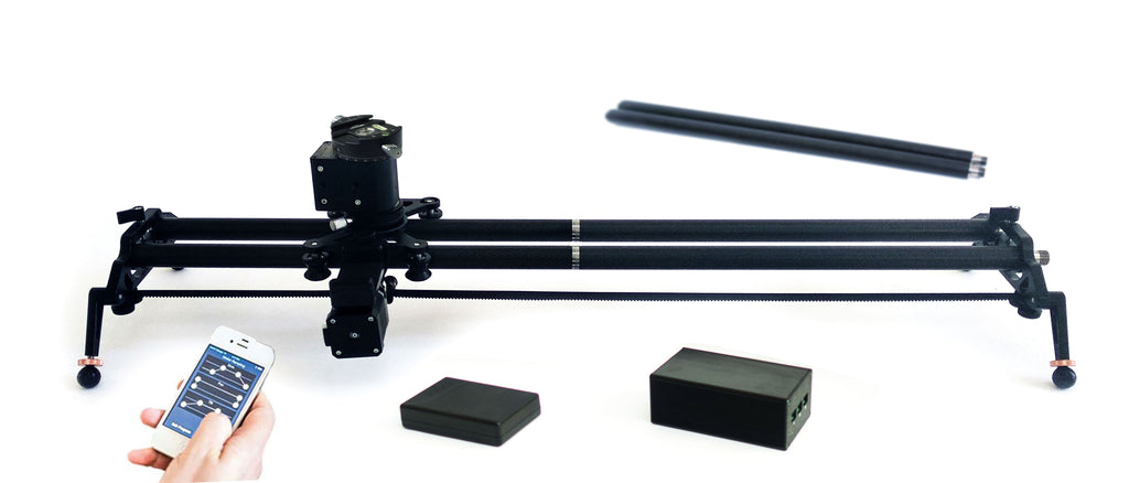 Digislider 2 axis extendable time lapse video slider