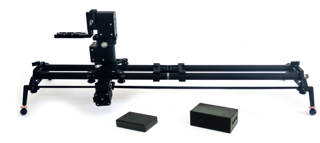 Digislider Extendable Camera Slider with 3 axis pan and tilt wireless motion control