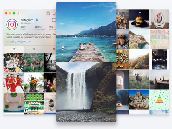 Flume Mac app upload photos and videos from desktop to instagram