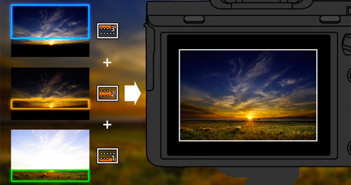 Sony Digital Filter App lets you control exposure over the same image