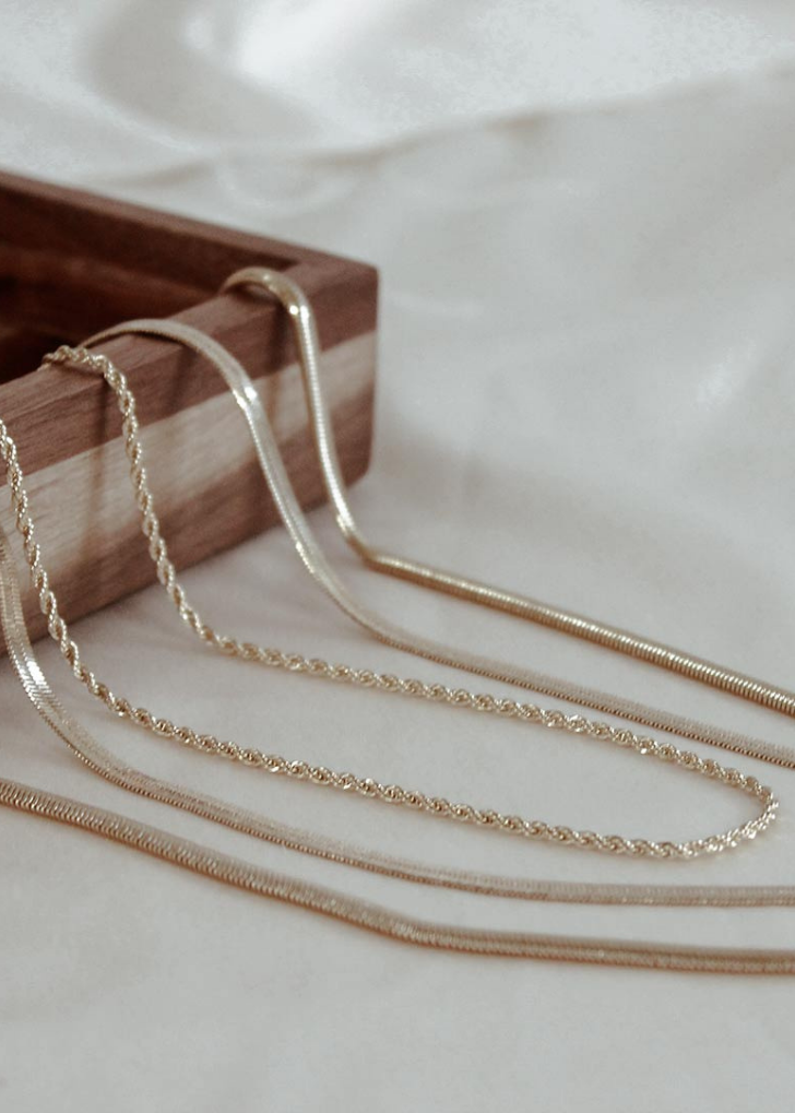 Daria Rope Chain Necklace