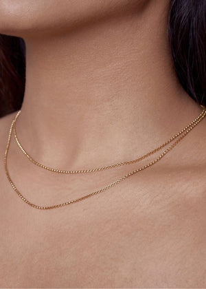 Zurie Box Chain Necklace