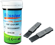 Mission Optical Lipid 3 in 1 Panel Test Strips (5/Vial)