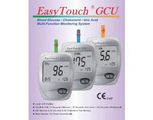 Easy Touch Glucose/Cholesterol/Uric Acid Test Kit