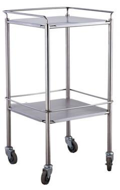 Dressing Trolley on Castors with Shelves