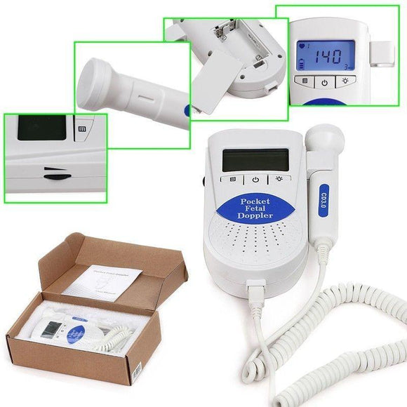 Sonoline B Fetal heart doppler LCD display 3mhz Probe