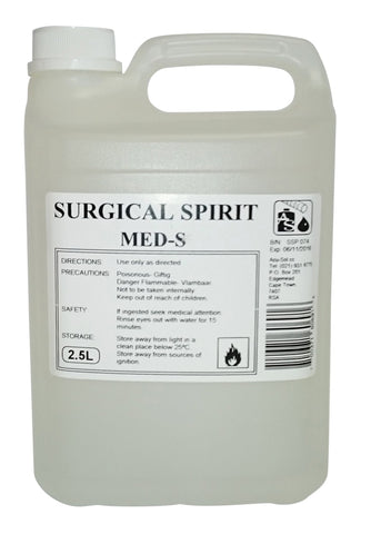 Surgical Spirits 2.5L