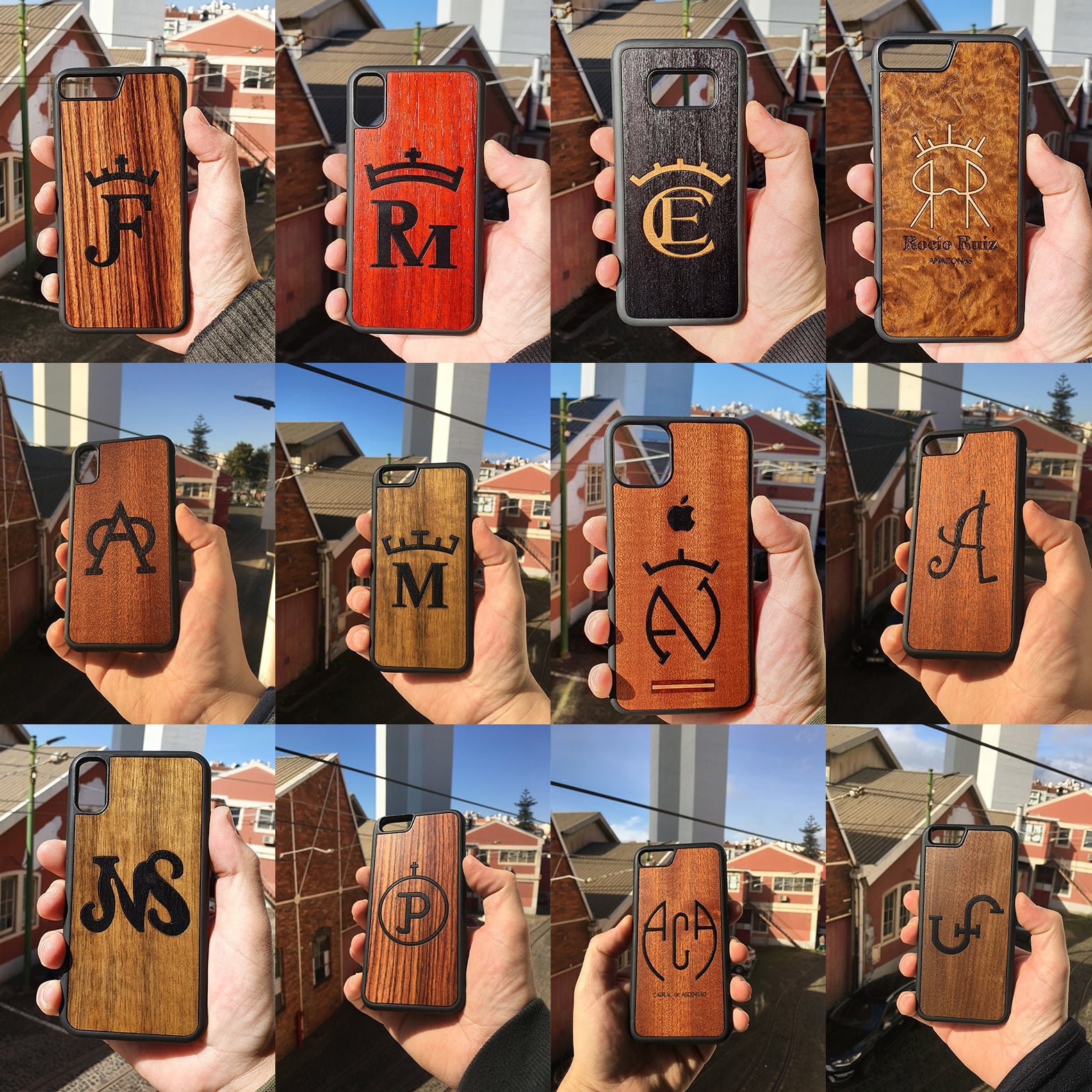 phone cases personalized lots of differents examples