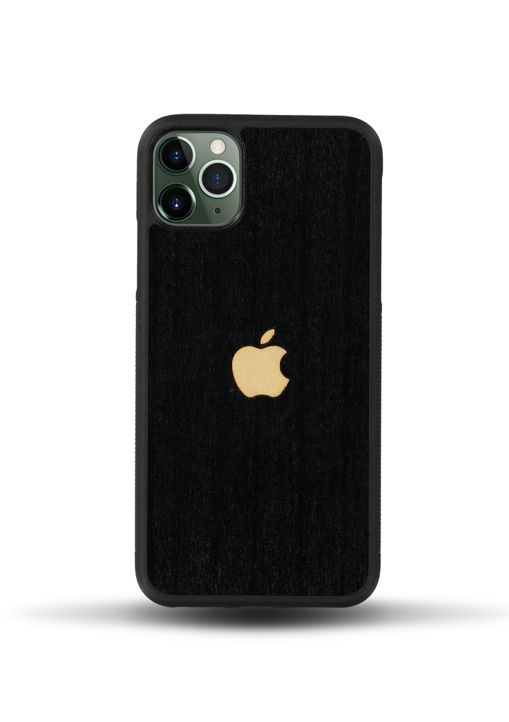 iPhone Wood Case - White Apple