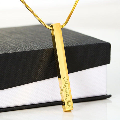 Vertical Stick Necklace