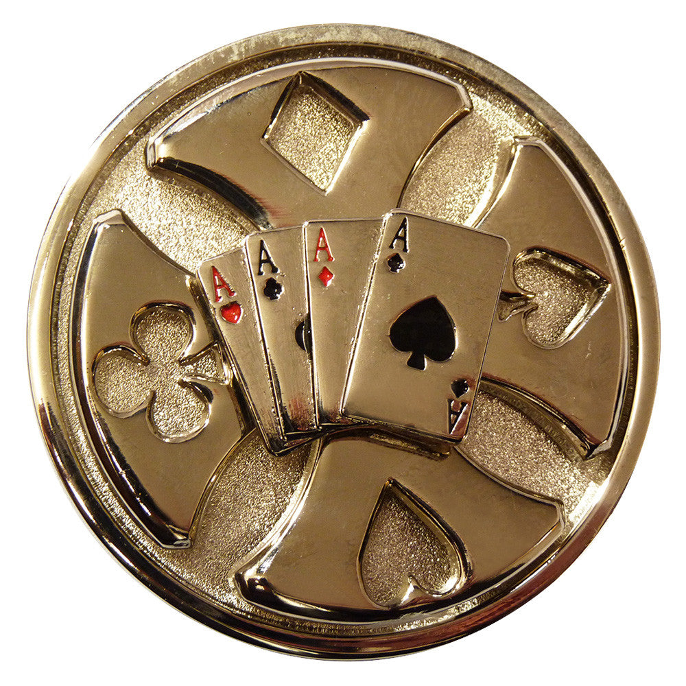 Deck of Cards Buckle - Spinner - BBT Clothing - 1