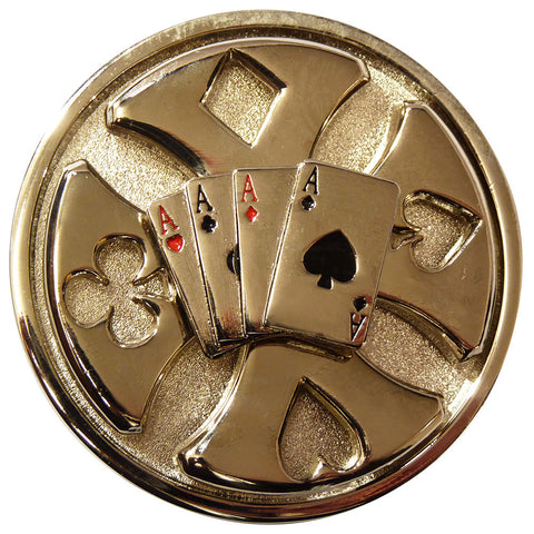 Deck of Cards Buckle - Spinner