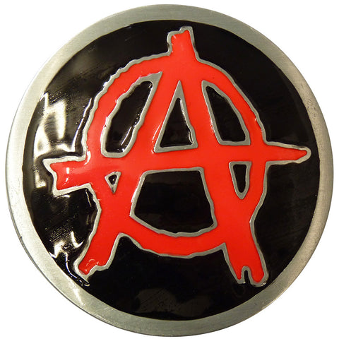Anarchy Symbol Belt Buckle