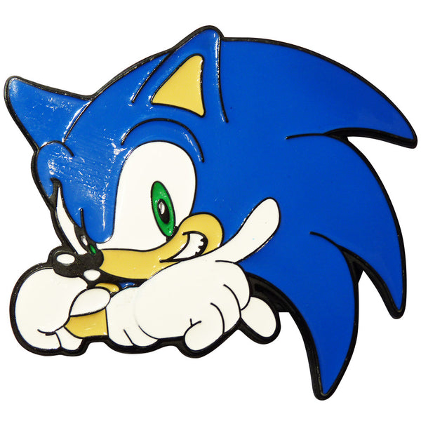 Sonic the Hedgehog Belt Buckle - BBT Clothing - 1