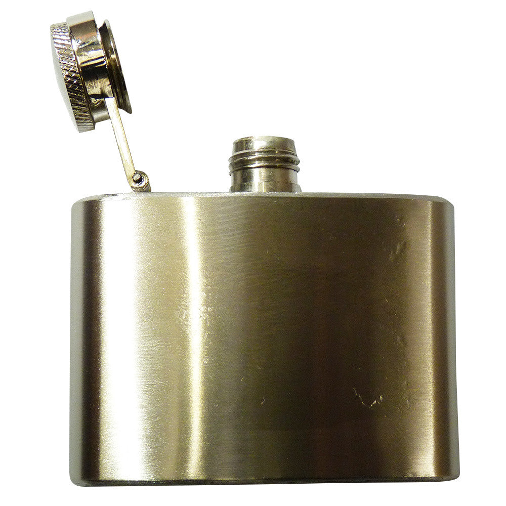 Hip Flask Belt Buckle - Stainless Steel - BBT Clothing - 2