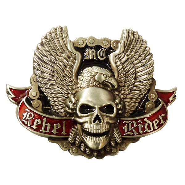 Bike Belt Buckle - Rebel Rider - BBT Clothing