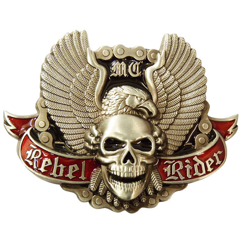 Bike Belt Buckle - Rebel Rider
