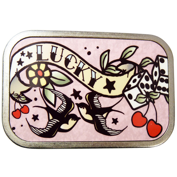 Tattoo 'Lucky' Belt Buckle - BBT Clothing - 1