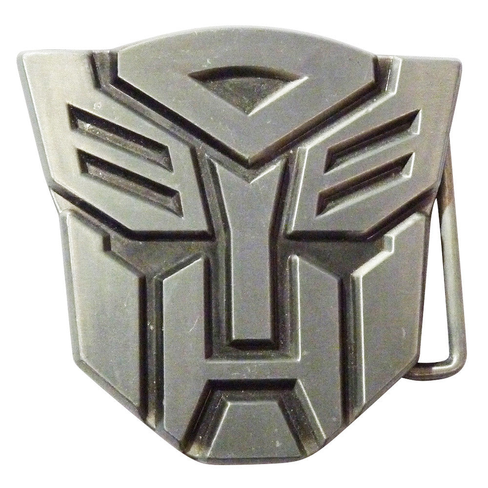 Transformers Belt Buckle  - Autobot Metal Finish - BBT Clothing - 1