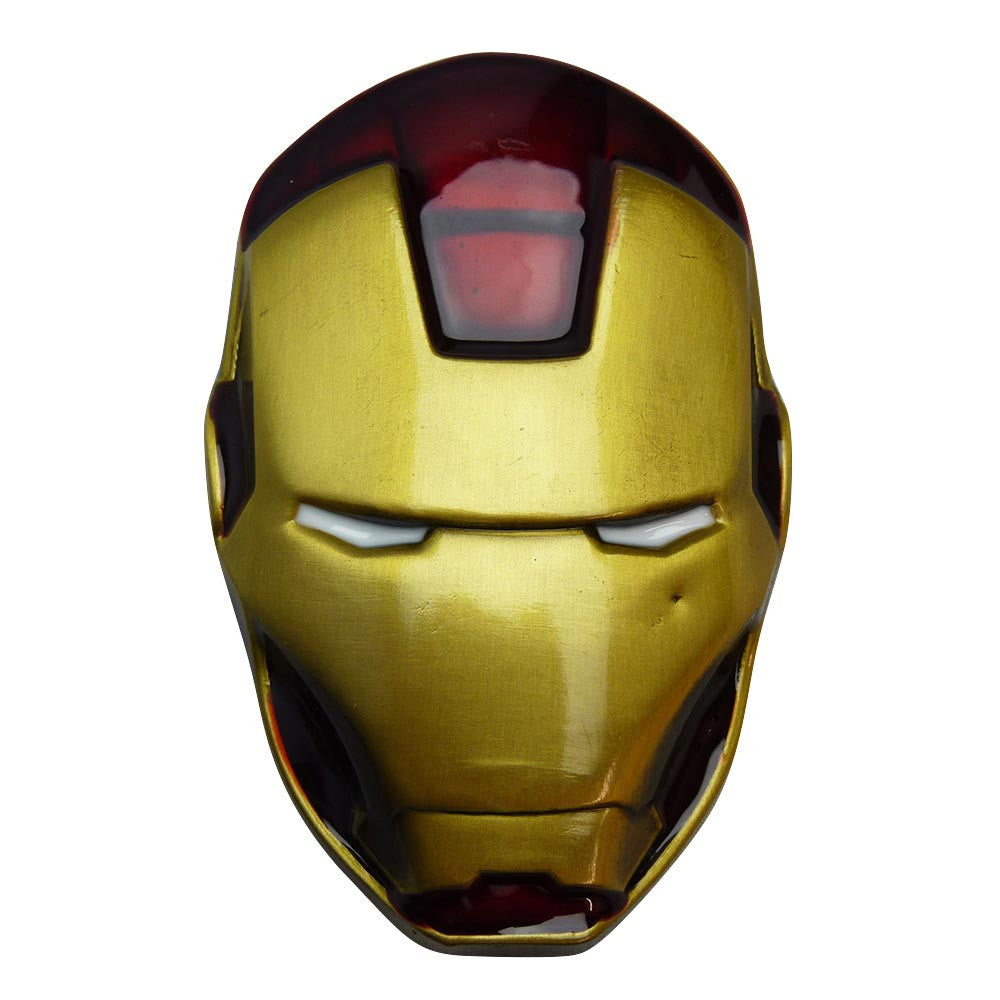 Iron Man Belt Buckle - Head - BBT Clothing - 2