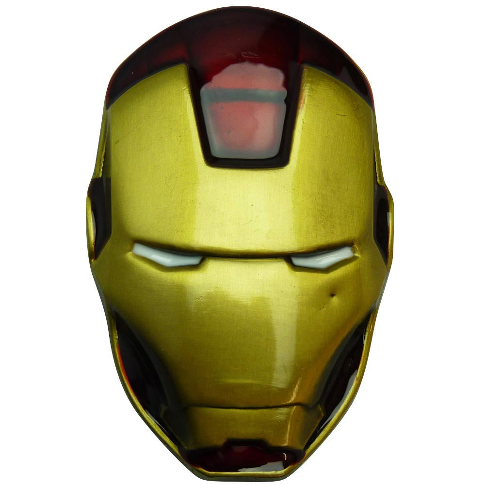 Iron Man Belt Buckle - Head - BBT Clothing - 1