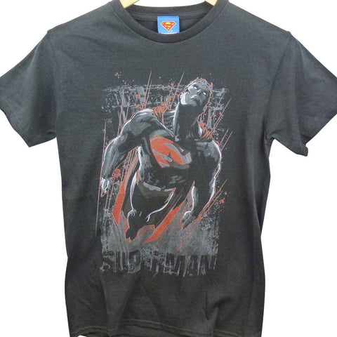 Superman T-Shirt - The Last Son Of Krypton Black