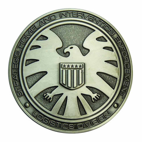 SHIELD belt buckle - Crest