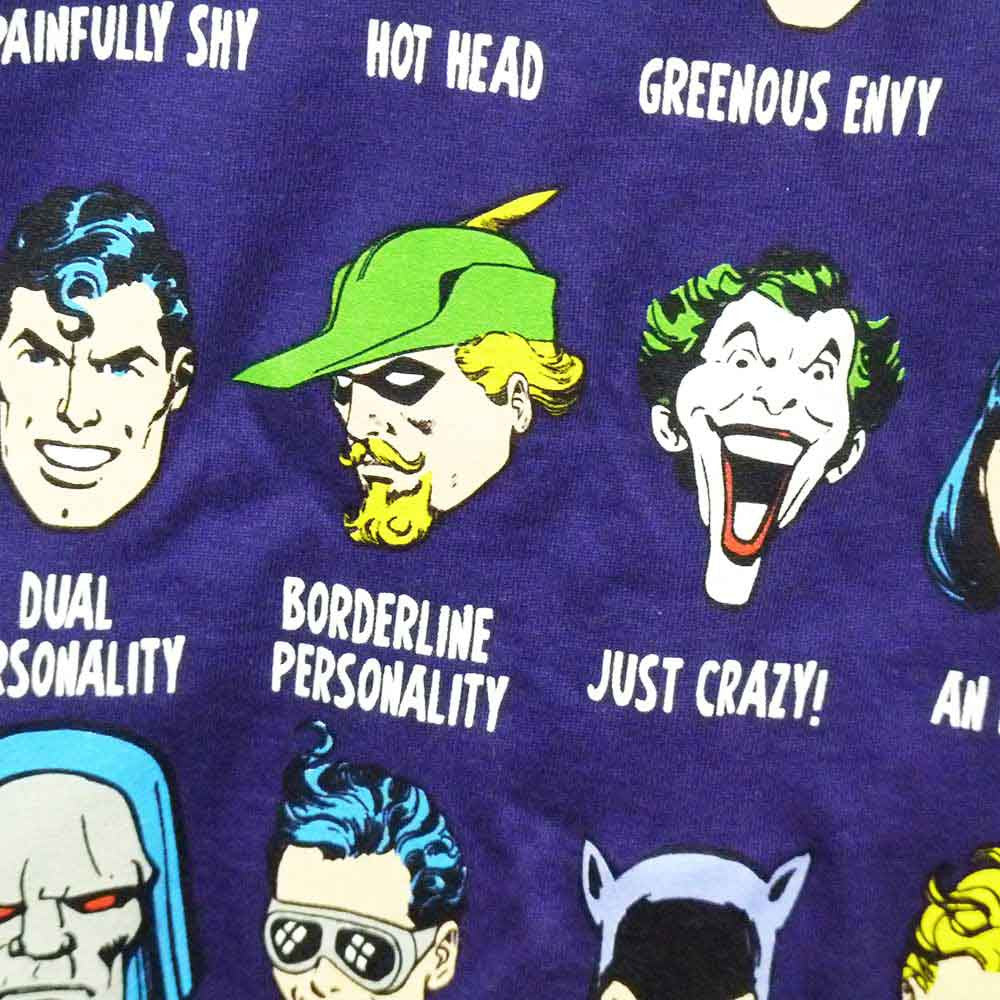 DC Comics T-Shirt - Superheroes Have Issues Too! - BBT Clothing - 3