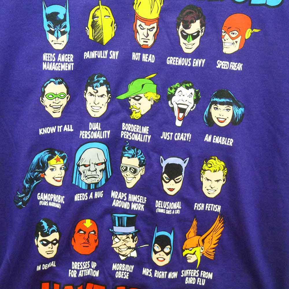 DC Comics T-Shirt - Superheroes Have Issues Too! - BBT Clothing - 2