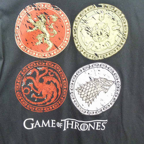 Game of Thrones T-Shirt - Circle House Crests