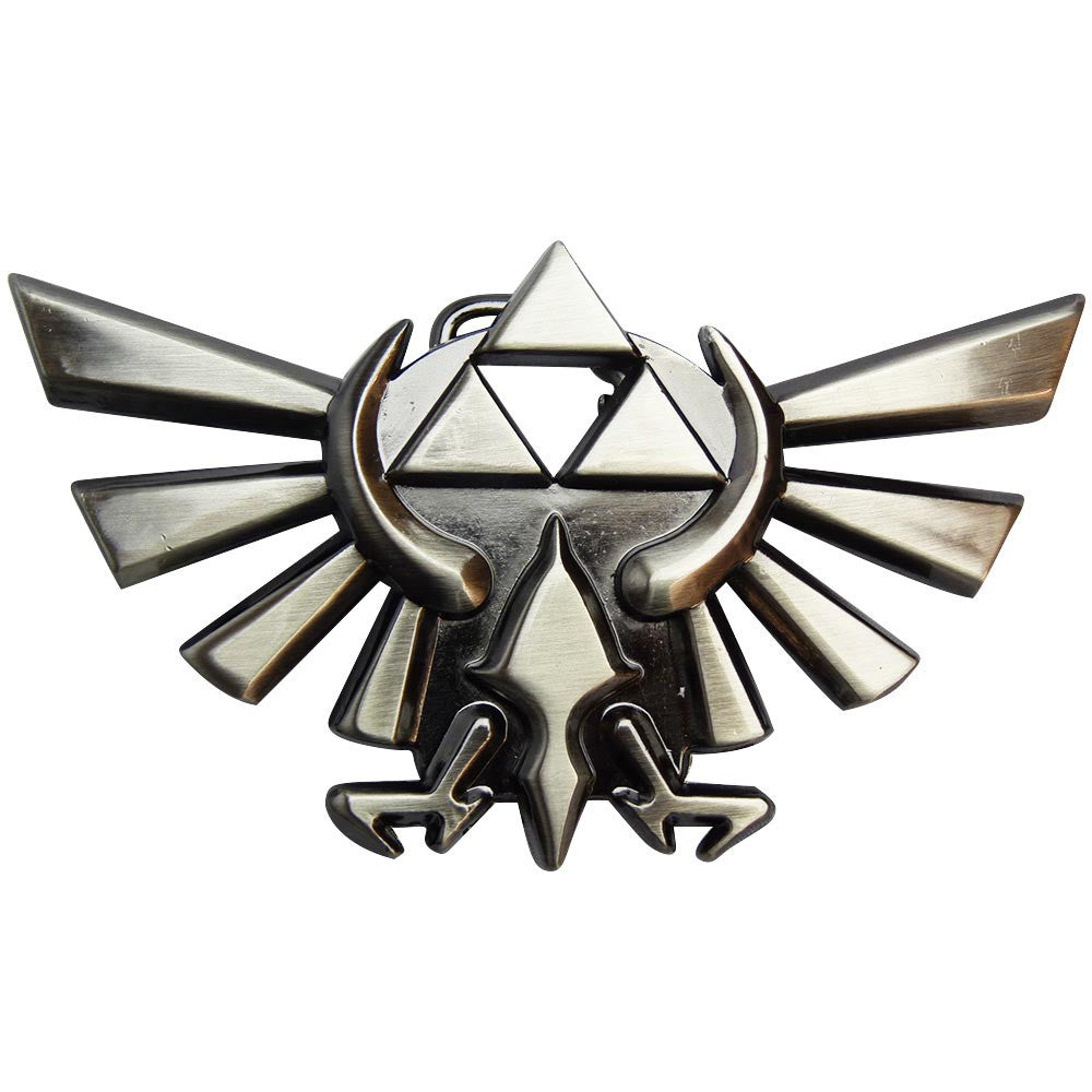 Nintendo Belt Buckle - Zelda Logo - BBT Clothing - 1