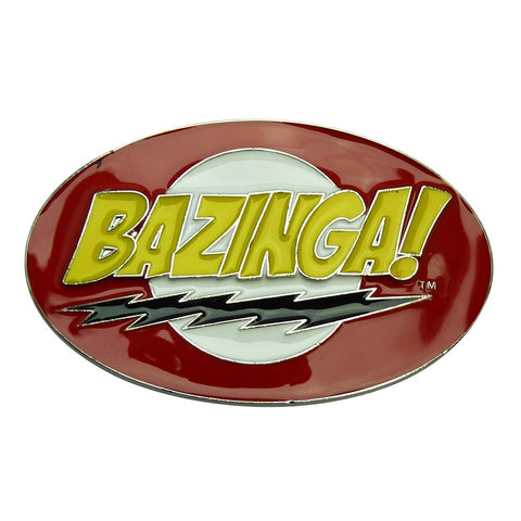 Big Bang Theory Belt Buckle - Bazinga