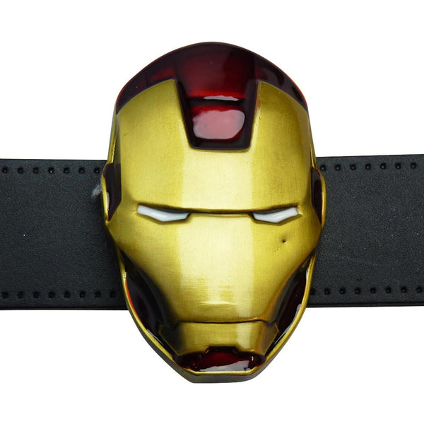 Iron Man Belt Buckle - Head - BBT Clothing - 3