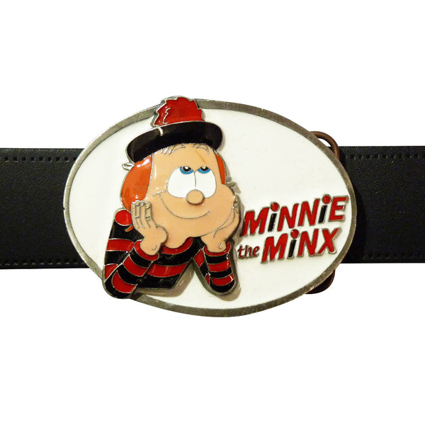 Minnie the Minx Belt Buckle - BBT Clothing - 4