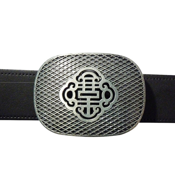 Reticulate Knot Belt Buckle - Metal Finish - BBT Clothing - 3