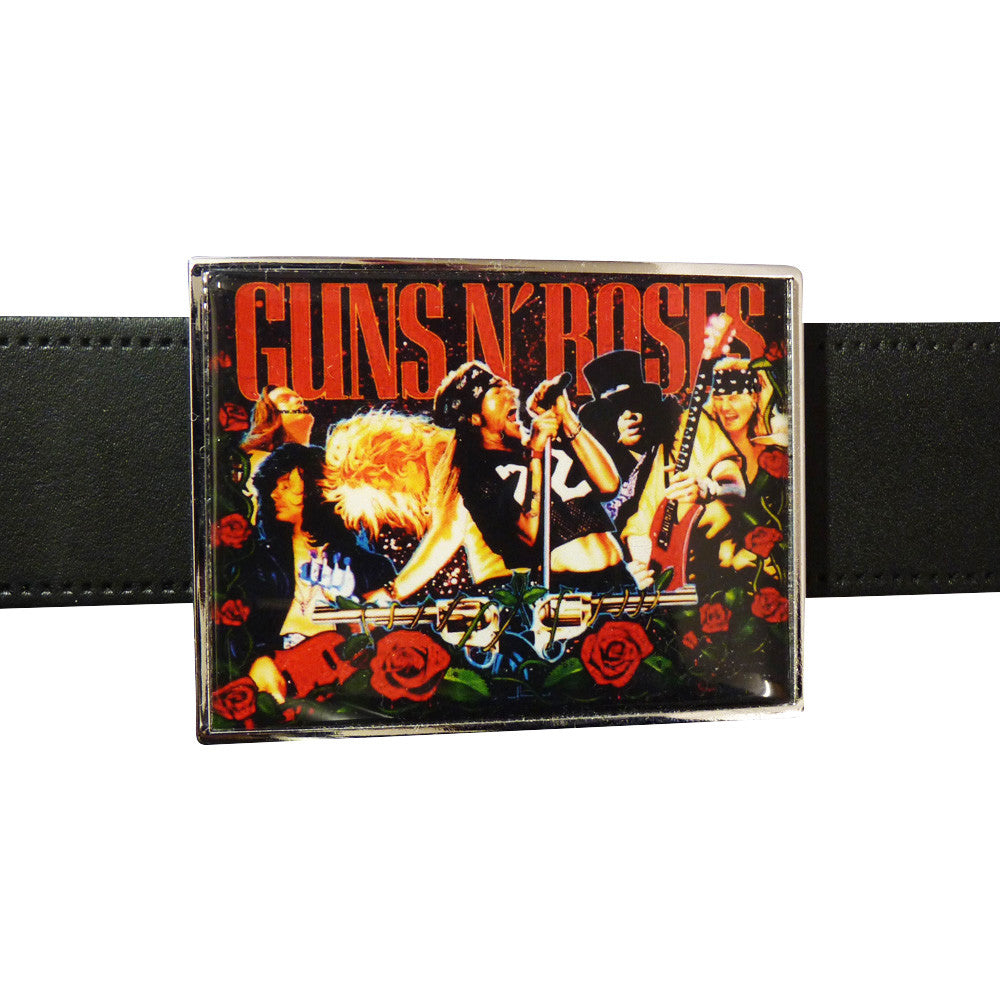 Guns n Roses Belt Buckle - Concert image - BBT Clothing - 2