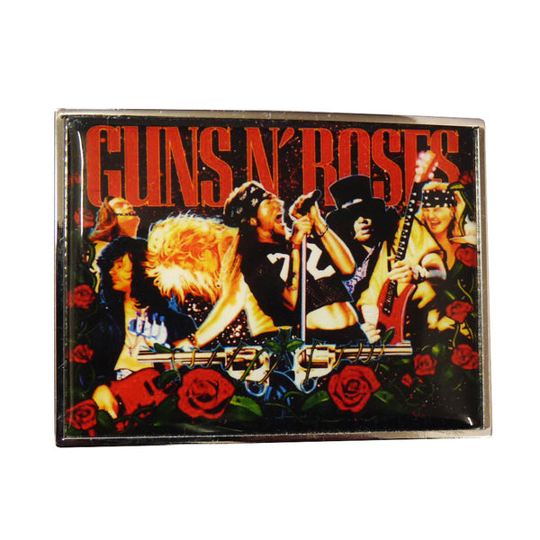 Guns n Roses Belt Buckle - Concert image - BBT Clothing - 1