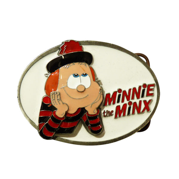Minnie the Minx Belt Buckle - BBT Clothing - 3