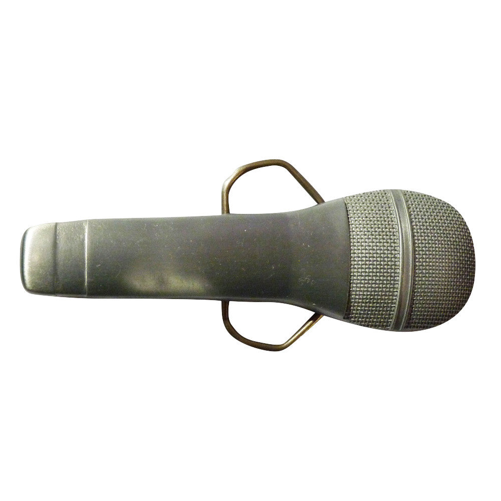 Microphone Belt Buckle - BBT Clothing - 1