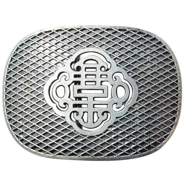 Reticulate Knot Belt Buckle - Metal Finish - BBT Clothing - 2