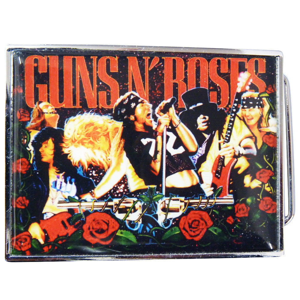 Guns n Roses Belt Buckle - Concert image - BBT Clothing - 3